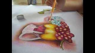 Efeito transparência – pintura em tecido parte 2/2