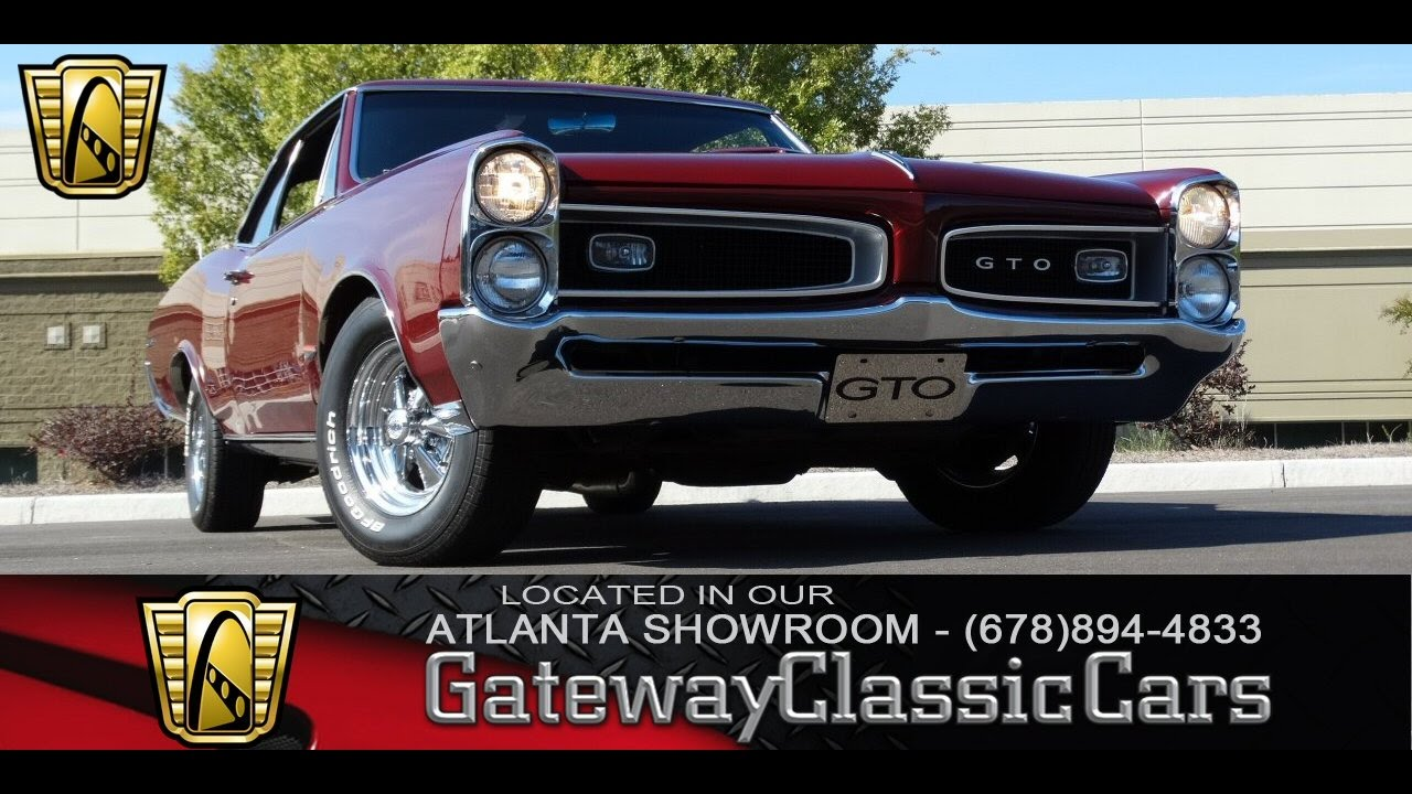 Pontiac Gto Gateway Classic Cars Of Atlanta Youtube