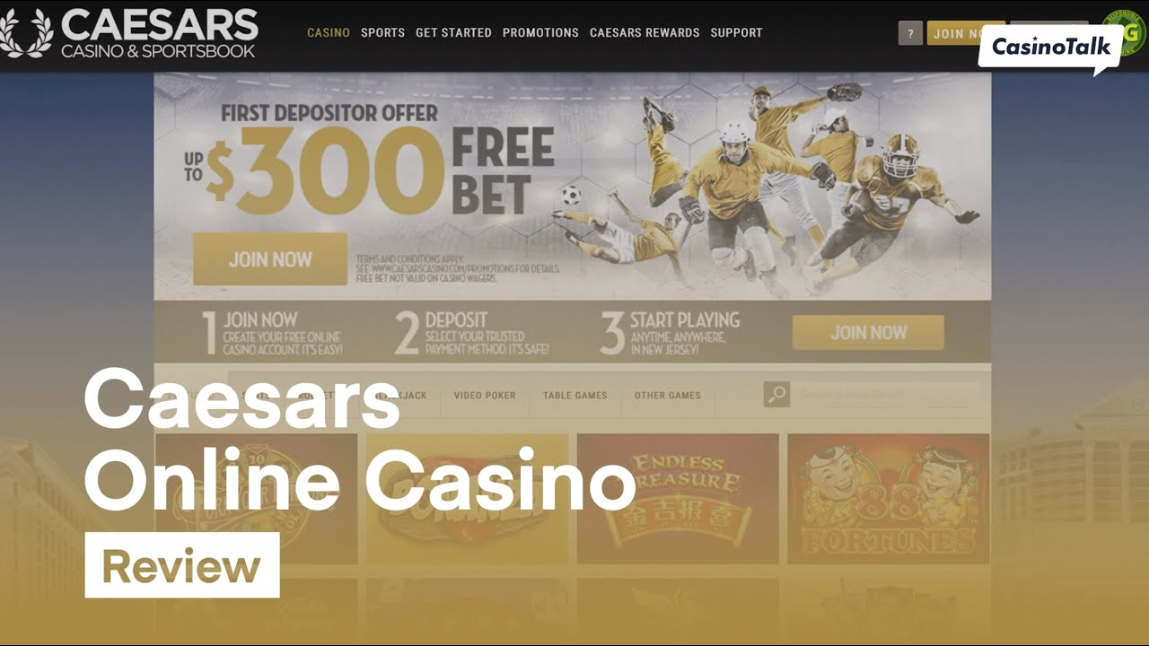 Caesars Online Casino Review Youtube