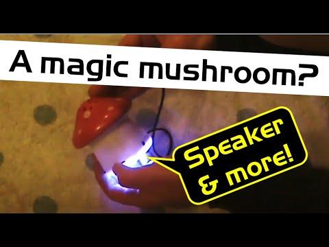 Review: Kmart's $2.50 mushroom amplified speaker