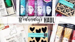 Wednesday's Haul 01.23.2019 -Craft & Planner Supplies Michael's, MysticsLittleGifts, Coco'sVision