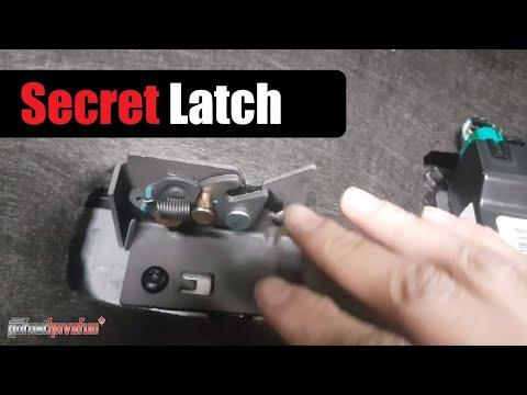 Hidden Rear Seat Latch Ford F-150 (2016+) | AnthonyJ350
