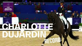 Charlotte Dujardin & MSJ Freestyle Record Breaking Performance | FEI Dressage World Cup™
