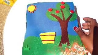 Handmade book for kid's (libro sensoriale per bambini)