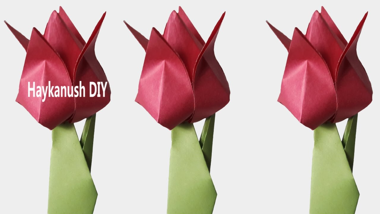Easy Origami For Beginners Step By Step Origami Flowers Tutorial