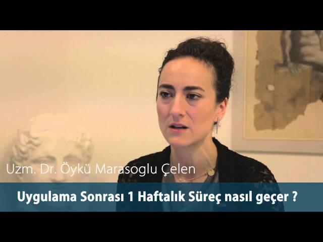 Dr.Öykü Maraşoğlu Çelen - Co2 Fraksel Lazer Sonrasında İlk1 Haftalık Süreç Nasıl Geçer ?