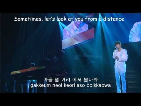 L solo ft. Sungjong - I Temporary Lived By Your Side Live (Hangul+Romanization+English)
