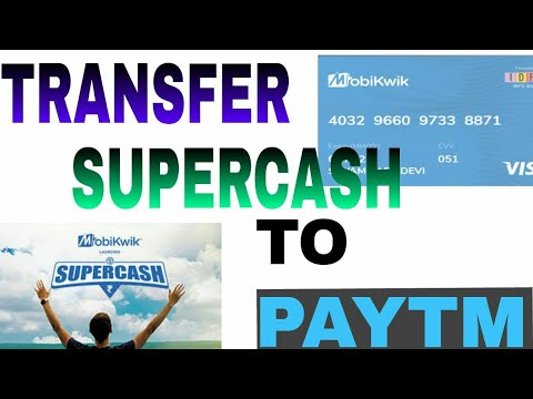 New &  Exclusive Trick To Transfer mobikwik supercash to Pay