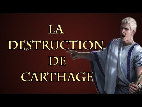 Pourquoi Rome a détruit Carthage ?