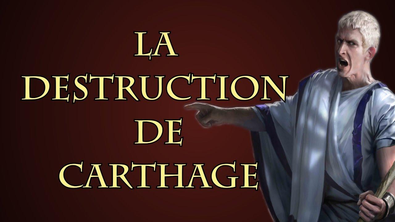 Pourquoi Rome a détruit Carthage ? [Questions d'Histoire #02]