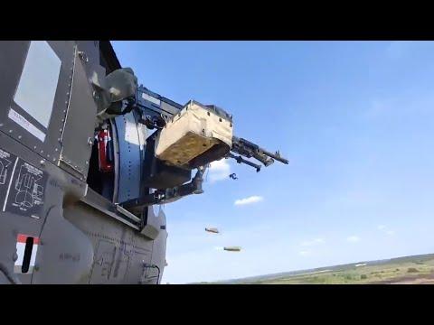 Aerial Gunnery At Fort Hood
