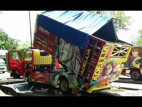 Canter Dump Truck Modifikasi Style ft ARIAWAN
