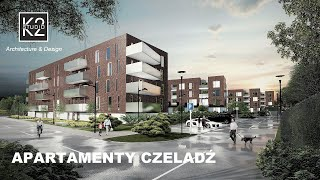 APARTAMENTY CZELADŹ | K2STUDIO Architecture & Design | BA ARCHITEKTURA | 3D animation