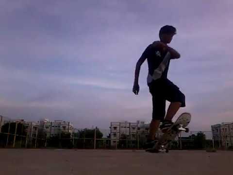 Beginner's Tail stop - Skating