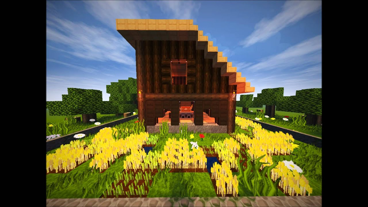Neu minecraft hausideen 01 modernes waldhaus youtube for Modernes waldhaus