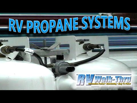 RV Walk Thru LP Gas Propane Systems YouTube