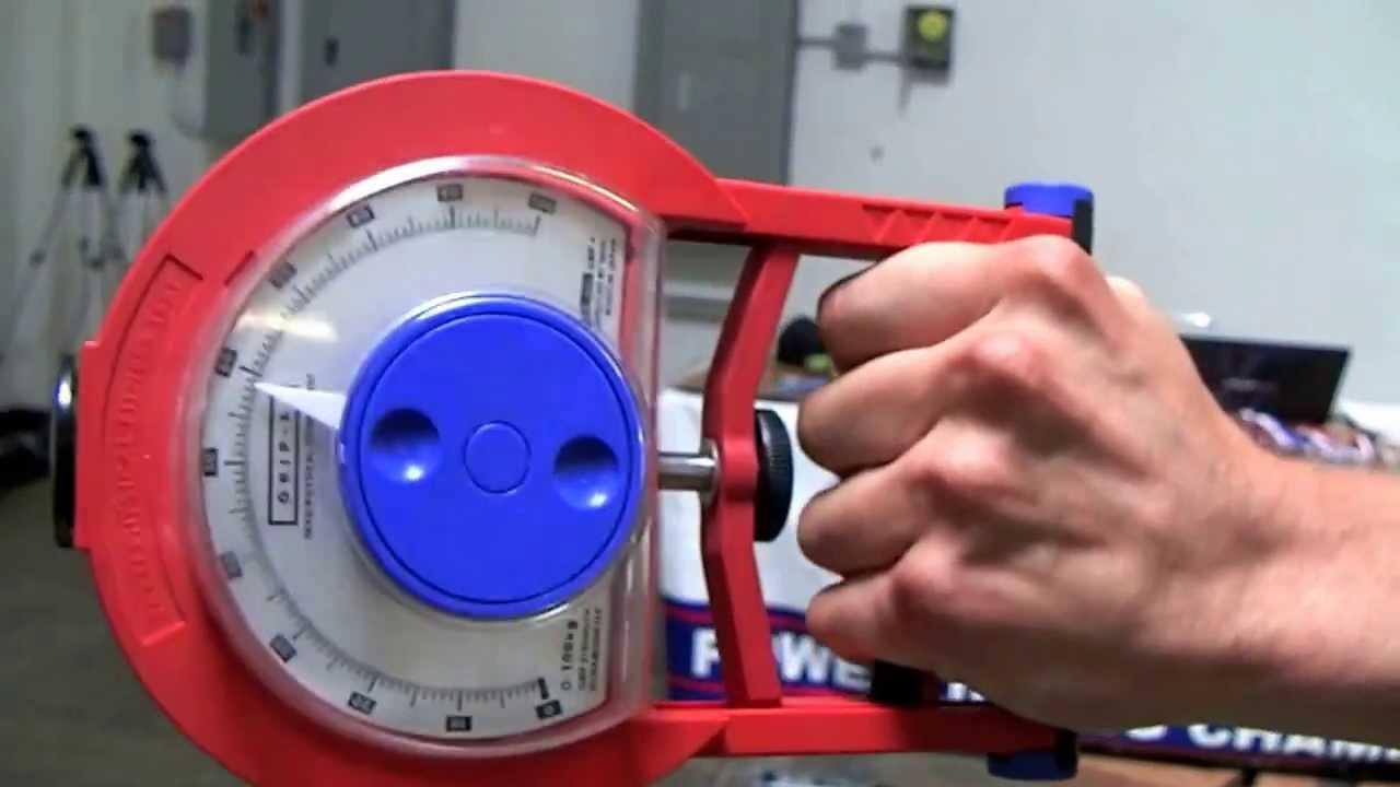 Hand Dynamometer Test : M charles nunez dynamometer hand grip lb baseline