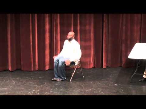 The Praise Dancer In Wheel Chair Comic Skit!