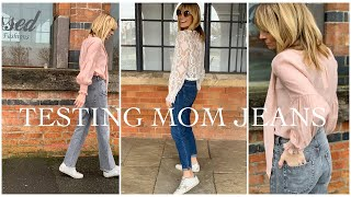 Testing Mom Jeans | Try on Spring Summer 2019