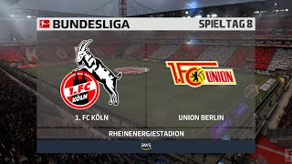 1. fc köln gegen den union berlin am 8. spieltag der bundesliga saison 2020/21. ► unterstützt mich: https://www.tipeeestream.com/tpzyt/donationjetzt fi...