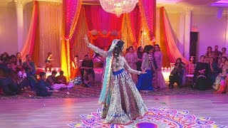 Bride's Surprise Mehndhi Wedding Performance