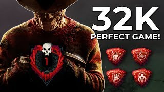 RANK 1 PERFECT GAME ON BLOOD LODGE!? - Dead by Daylight!
