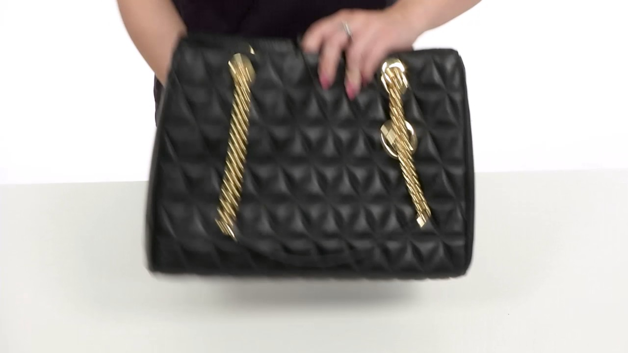 2734b5f73919 MICHAEL Michael Kors Scarlett Large Tote SKU:8902940 - YouTube