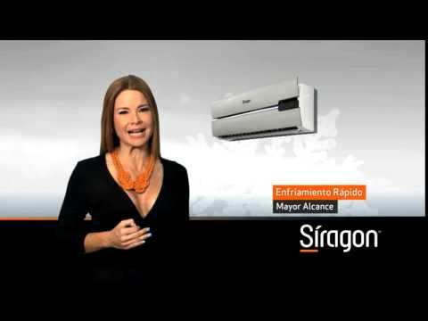 S ragon aires acondicionados as 5000 y as 7000 youtube for Aire acondicionado 7000 frigorias