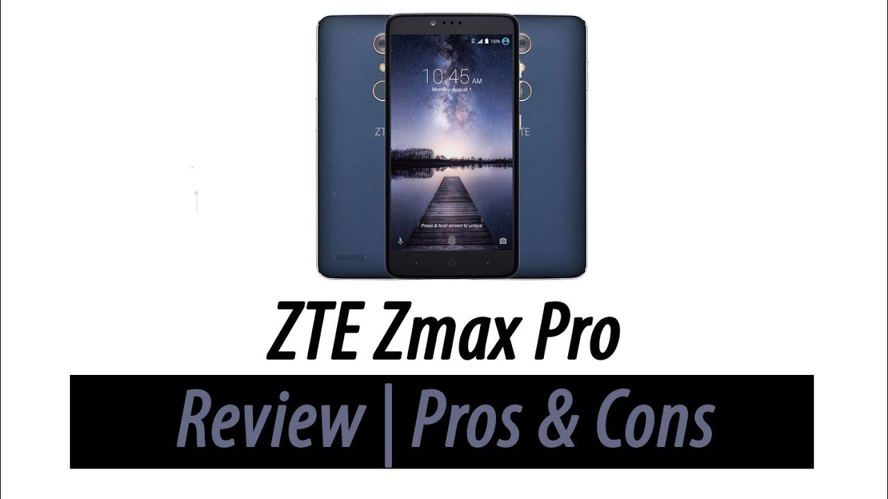 Zte Zmax Pro Review Pros Amp Cons Funnydog Tv