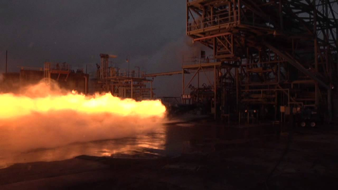 Saturn V F 1 Engine Gas Generator Blazes Back To Life
