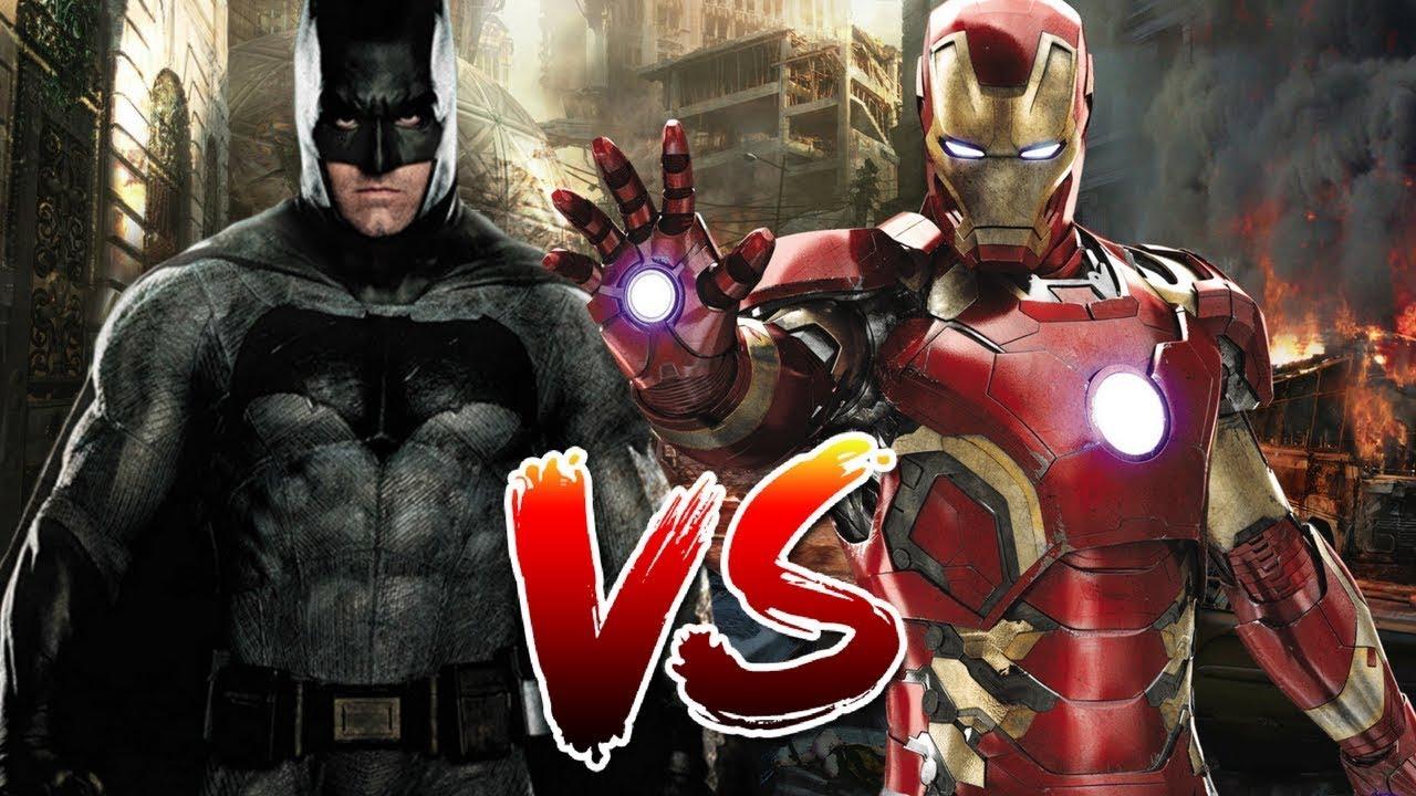 BATMAN VS IRON MAN RAP {quien es el mejor multimillonario ...