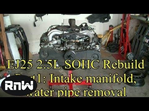 How to Rebuild an EJ25 Subaru Engine - Part 1