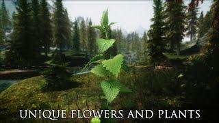 TES V - Skyrim Mods: Unique Flowers And Plants