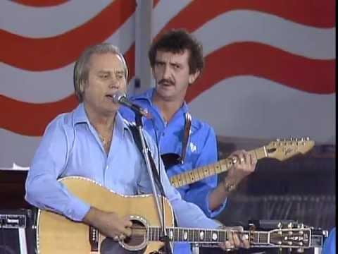 George Jones - She's My Rock (Live at Farm Aid 1985)