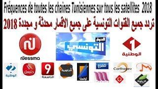 تردد القنوات التونسية