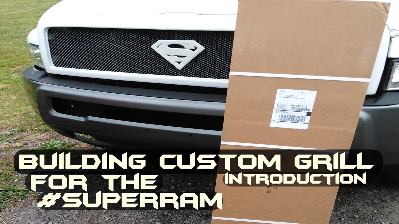Building Custom Truck Grill | #SuperRam | Garage Edition S2 Ep  17