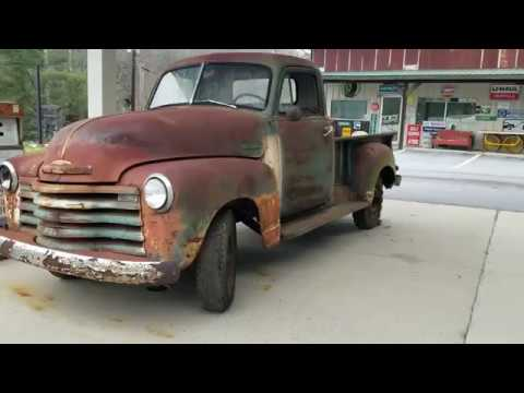Rust in Peace - Old Rusty Chevrolet 1951 3100 Truck