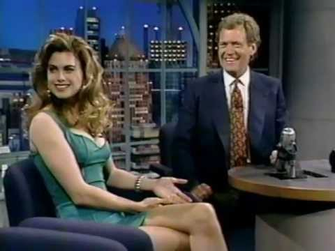 Kathy Ireland on Late Night (1992)
