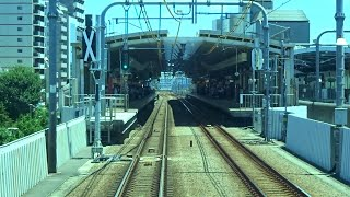 【2021.7】JR中央線国分寺~武蔵境間ホーム延伸工事区間前面展望