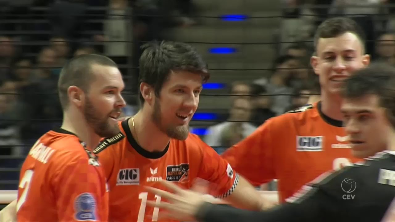 BERLIN Recycling Volleys vs VfB FRIEDRICHSHAFEN FULL MATCH - 2018 #CLVolleyM Playoff 12 Home Match