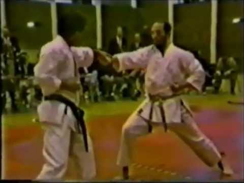 Hirokazu Kanazawa and Terry O'Neill Karate Demonstration