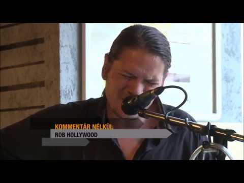 Rob Hollywood - Ten Men Workin (Neil Young cover) Live TVZeg 2016