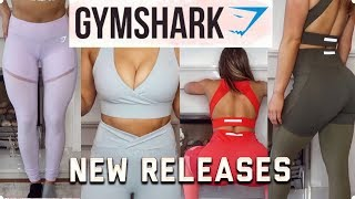 FLATTERING ACTIVE WEAR | GYMSHARK NEW RELEASES TRY--ON HAUL!