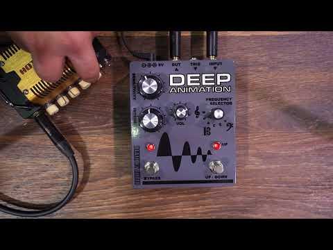 Death By Audio - Deep Animation Envelope FIlter/Follower (NAMM 2018 Pedal Demo Marathon)