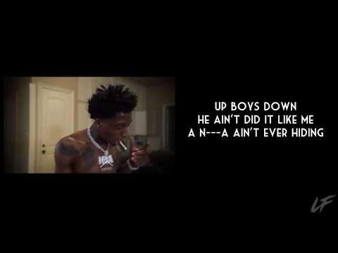 NBA Youngboy – Death enclaimed (Lyrics) (432Hz)
