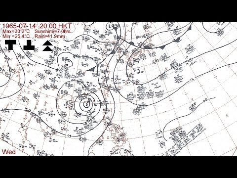 The 1965 typhoon season with Hong Kong daily weather summaries