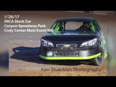 IMCA Stock Car 1/28/18 Canyon Speedway Park Main Event Win