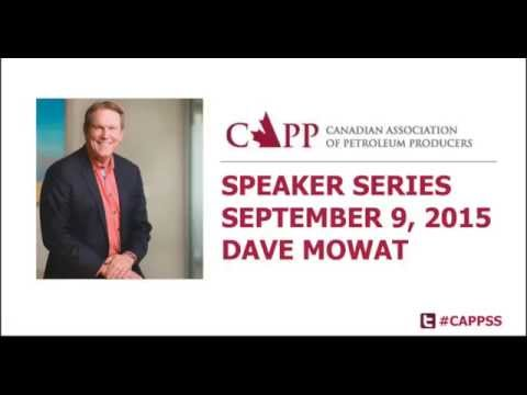 CAPP Speaker Series - Dave Mowat