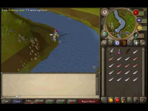 Runescape 99 Fishing Guide To 65Mil