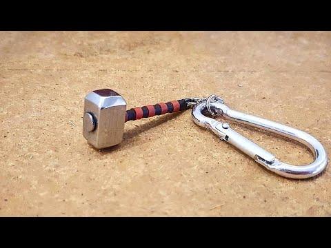 How To Make Thor's Hammer - Mjolnir Keychain